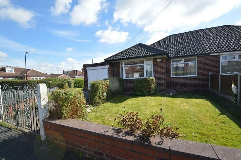 2 Bedrooms Semi Detached Bungalow for sale in Hawthorn Lane, SALE, Cheshire