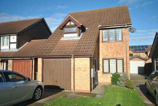 3 Bedrooms Detached House for sale in Wheatfield Drive, Waltham, GRIMSBY