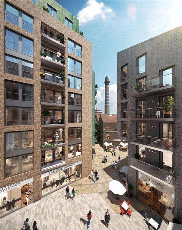 2 Bedrooms Flat for sale in Wandsworth High Street, London