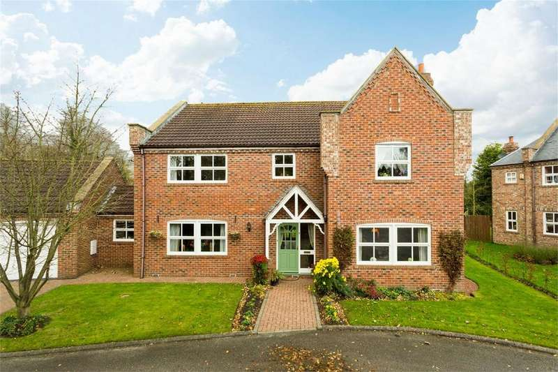 4 Bedrooms Detached House for sale in Derwent Court, Wressle, Selby