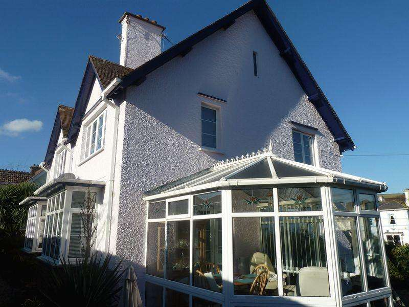 3 Bedrooms Detached House for sale in West Cliff Road, Dawlish