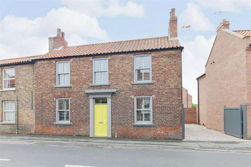 3 Bedrooms Semi Detached House for sale in Holme Road, Market Weighton, York