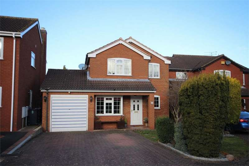 4 Bedrooms Detached House for sale in Pickford Close, Whitestone, NUNEATON, Warwickshire