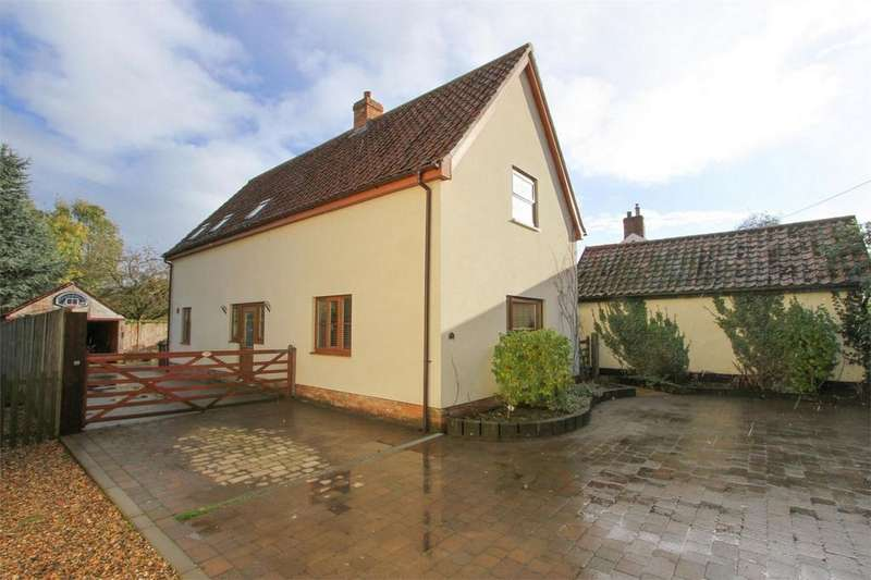 3 Bedrooms Detached House for sale in Chapel Road, Morley St Botolph, Norfolk