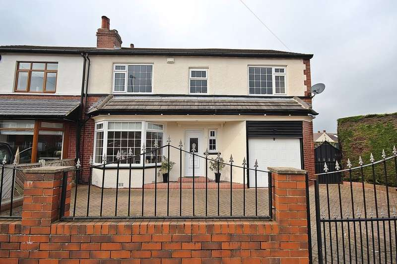 5 Bedrooms Semi Detached House for sale in Knightsway, Leeds, LS15