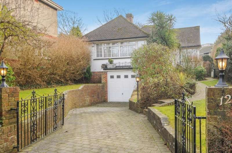 3 Bedrooms Bungalow for sale in Withdean Crescent Brighton East Sussex BN1