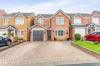 4 Bedrooms Detached House for sale in Wrekin Grove, Coppice Farm, Willenhall, West Midlands