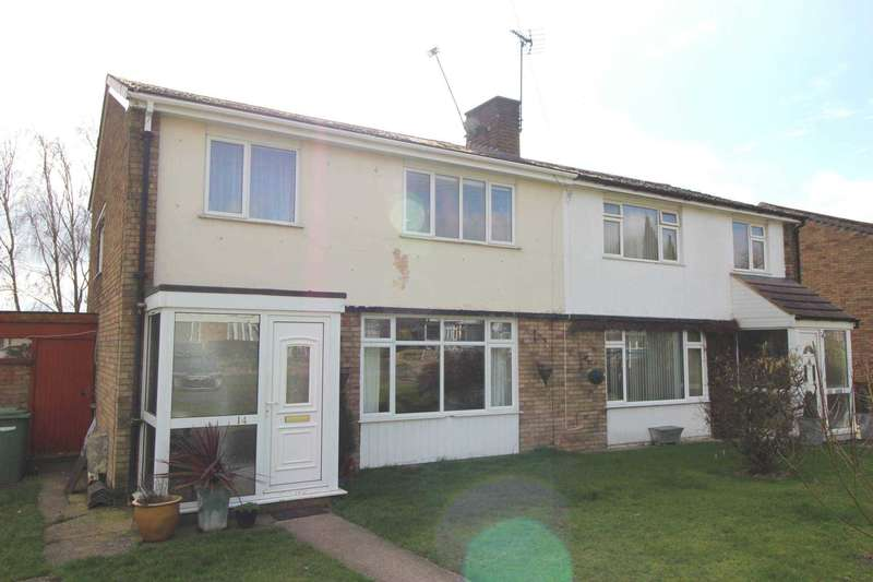 3 Bedrooms Semi Detached House for sale in Welland Avenue, Gartree,Market Harborough