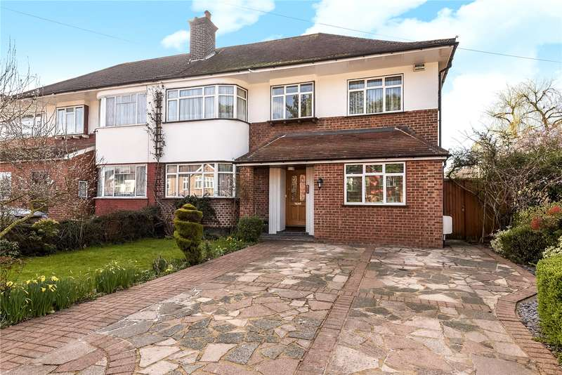 5 Bedrooms Semi Detached House for sale in Rayners Lane, Pinner, Middlesex, HA5