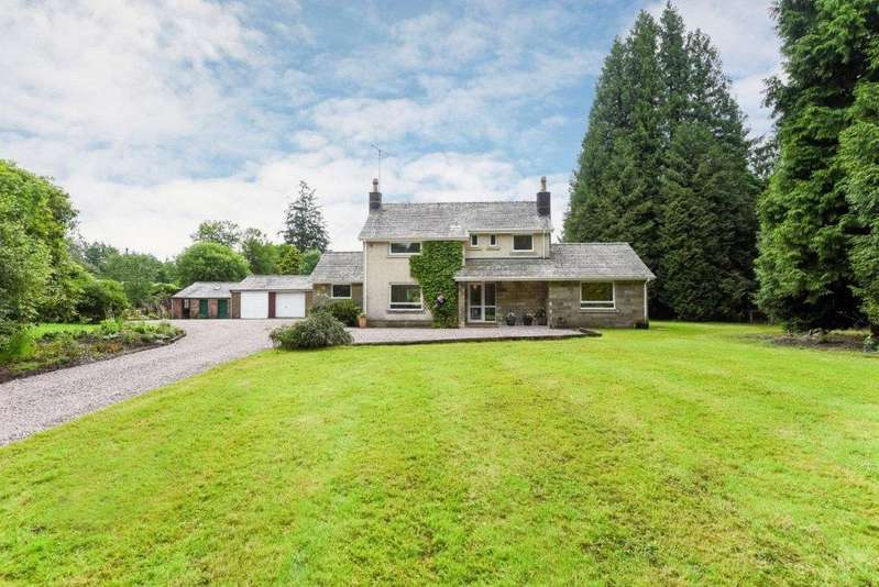 3 Bedrooms Detached House for sale in Longwood, Langholm, Dumfries and Galloway, DG13