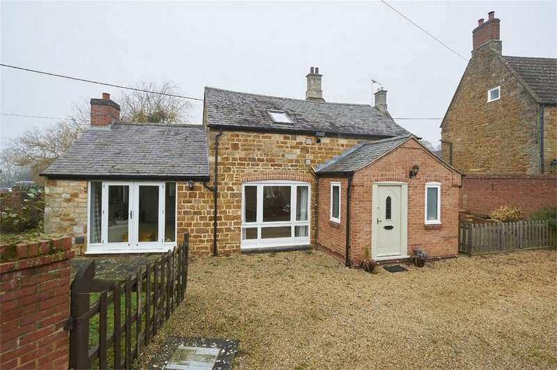2 Bedrooms Barn Conversion Character Property for sale in School Lane, Wilbarston, Market Harborough, Northamptonshire