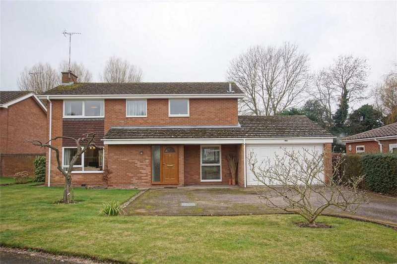 4 Bedrooms Detached House for sale in Myton Gardens, Warwick