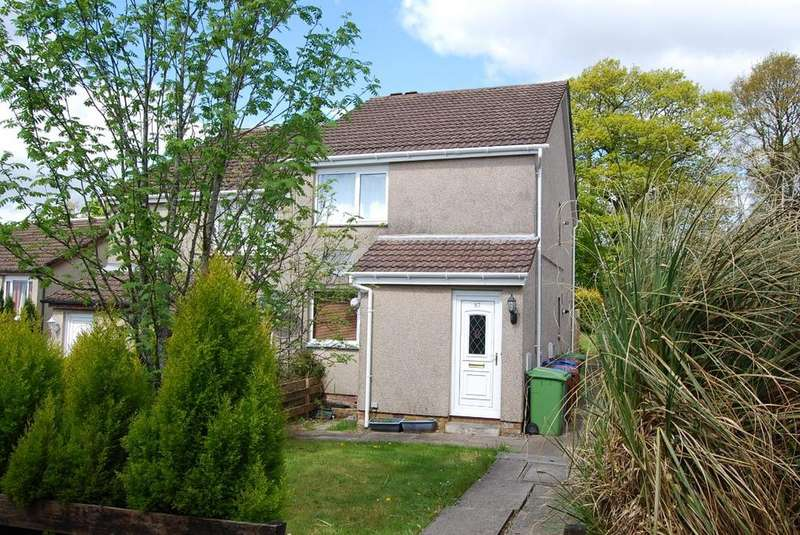 1 Bedroom Flat for sale in Murroch Crescent, Alexandria, West Dunbartonshire, G83 9QG