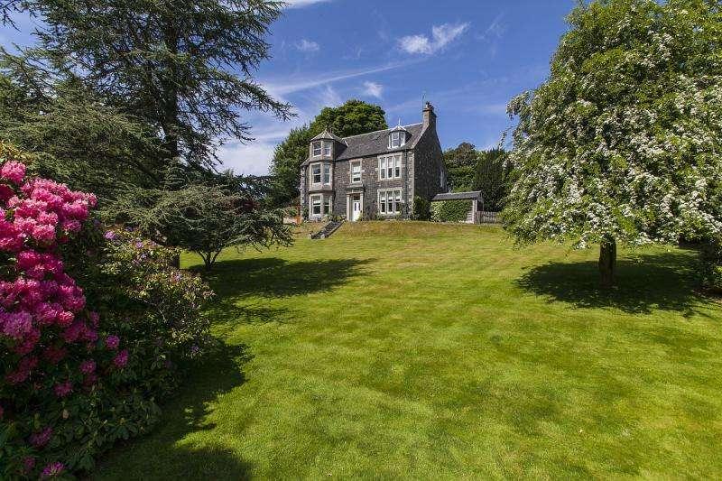 6 Bedrooms Detached House for sale in Woodside, Glen Road, Peebles, Scottish Borders, EH45