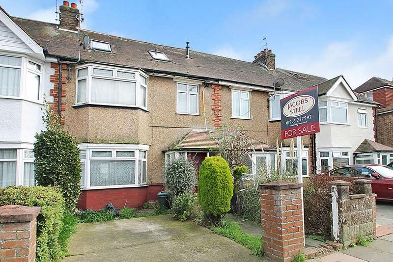5 Bedrooms Terraced House for sale in Brittany Road, Worthing, BN14 7DZ