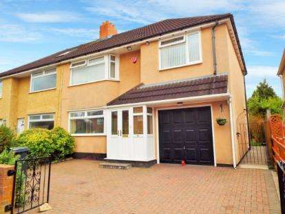 4 Bedrooms Semi Detached House for sale in Dryleaze Road, Bristol, Somerset