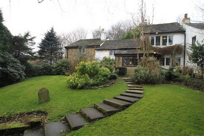 4 Bedrooms Semi Detached House for sale in Lower Earnshaw Cottage, Healey Stones, Healey, Rochdale, OL12