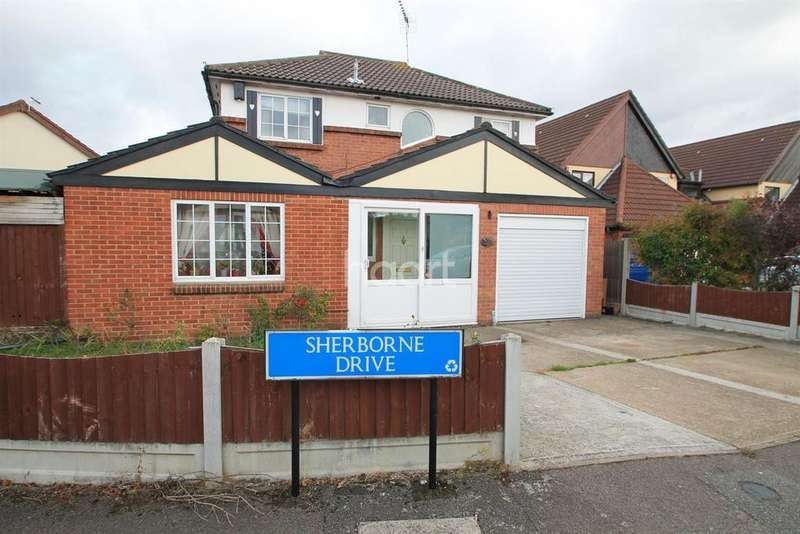 4 Bedrooms Detached House for sale in Sherbourne Drive, Basildon