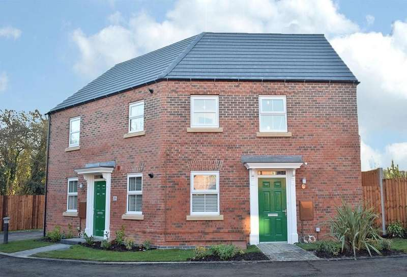 2 Bedrooms Apartment Flat for sale in Hastings Park, Ashby-de-la-Zouch