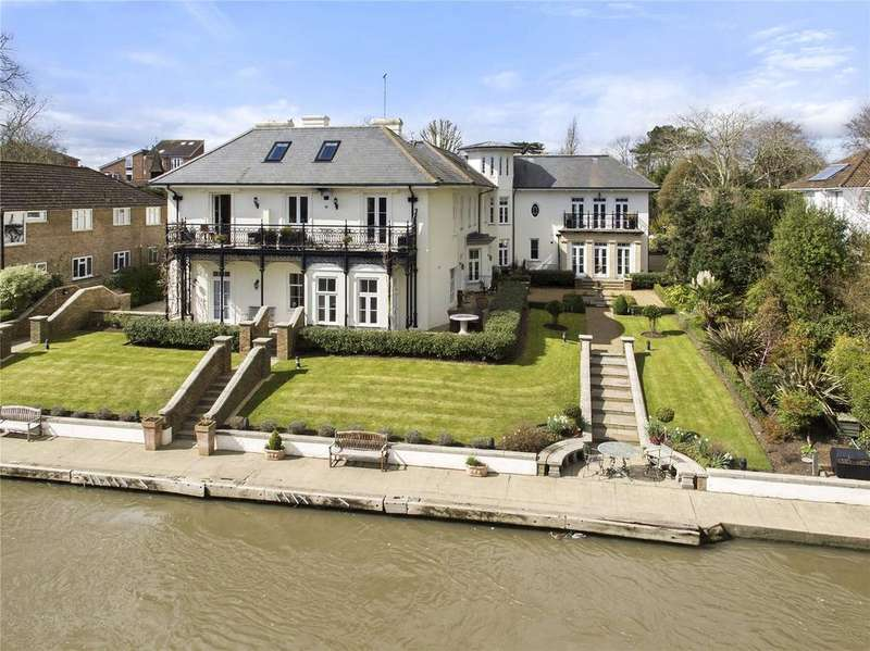 3 Bedrooms Flat for sale in Thameside Place, 26 Lower Teddington Road, KT1