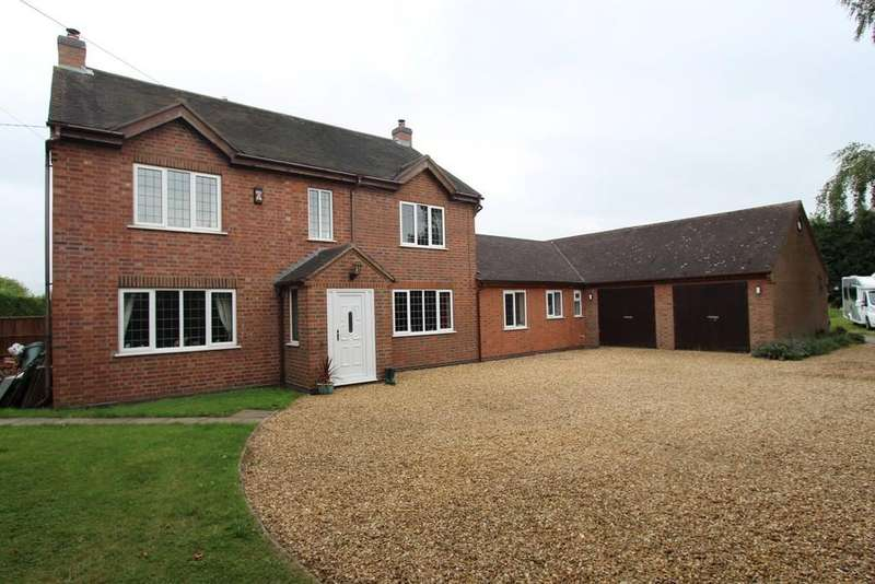5 Bedrooms Detached House for sale in Elford Road, Tamworth, B79 9BE