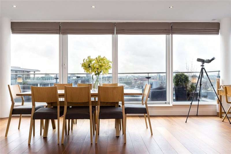 3 Bedrooms Apartment Flat for sale in Chelsea Vista, The Boulevard, Imperial Wharf, London, SW6