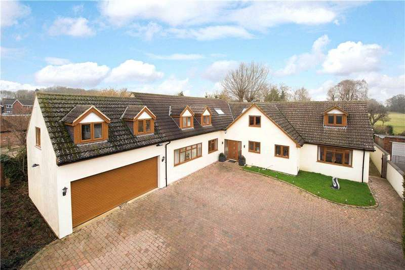 5 Bedrooms Detached House for sale in The Firs, Aylesbury Road, Bierton, Buckinghamshire