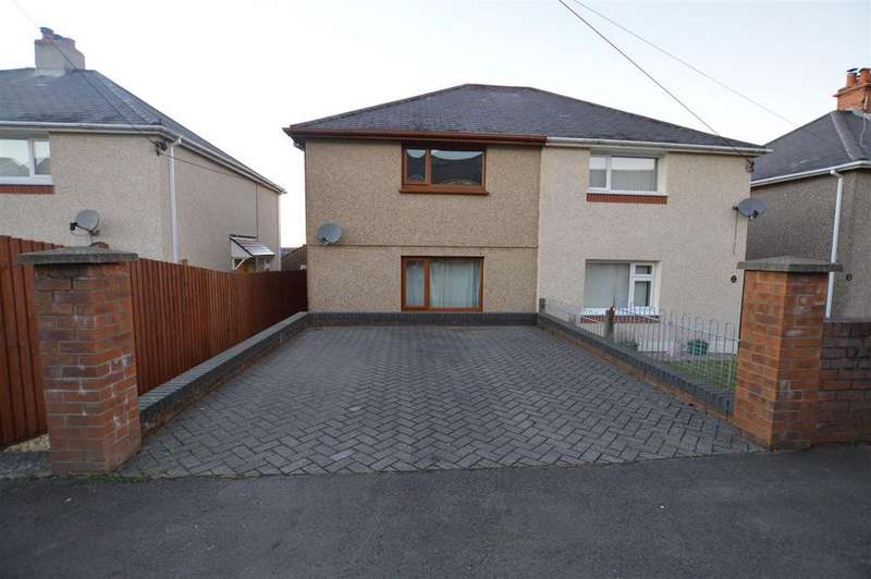 2 Bedrooms Semi Detached House for sale in Lower Brynamman