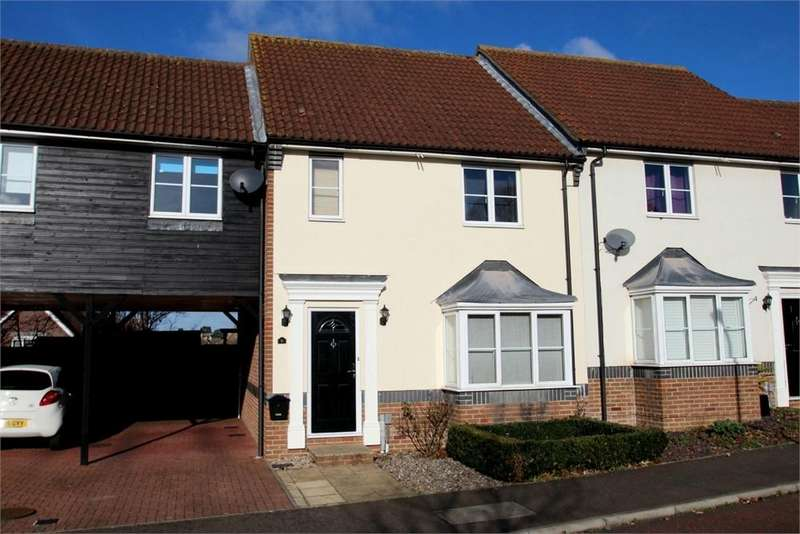 3 Bedrooms Semi Detached House for sale in Wren Close, Stanway, Colchester, Essex