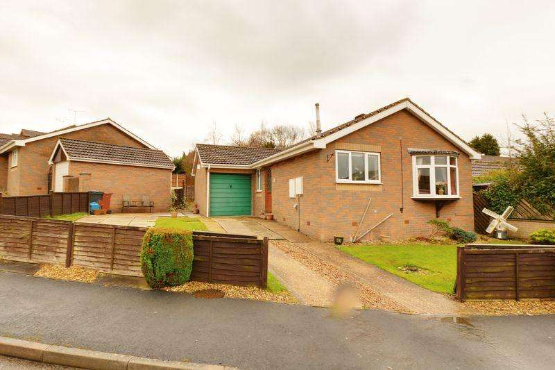 3 Bedrooms Detached Bungalow for sale in Markham Way, Wrawby