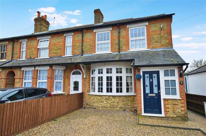 3 Bedrooms End Of Terrace House for sale in New Road, Croxley Green, Hertfordshire