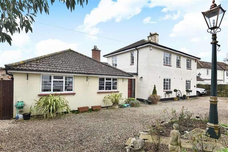 4 Bedrooms Detached House for sale in Newton Road, North Petherton, Bridgwater, Somerset, TA6