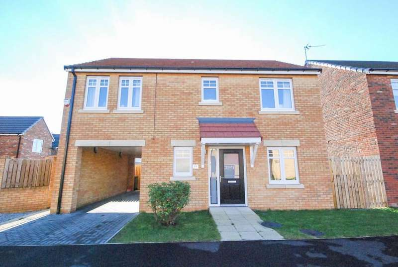4 Bedrooms Detached House for sale in Colliery Mews, Boldon Colliery