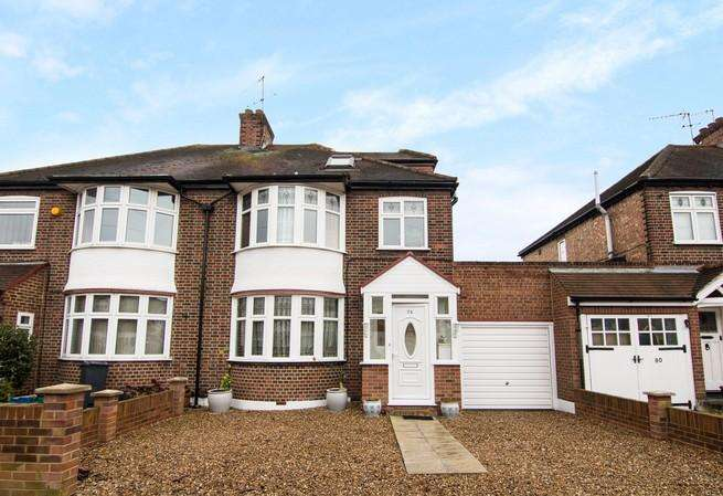 4 Bedrooms Semi Detached House for sale in Roxborough Avenue, Isleworth