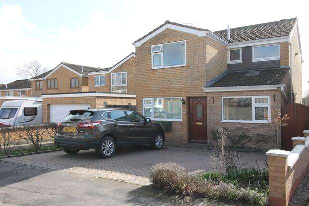 3 Bedrooms Detached House for sale in Heather Way , Countesthorpe , Leicester, LE8