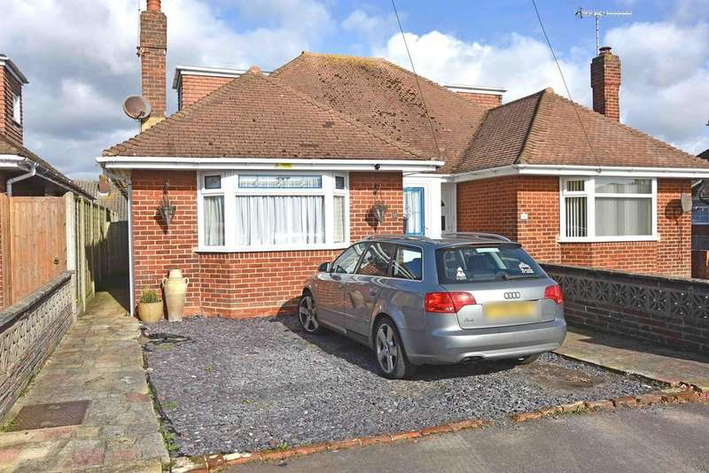 2 Bedrooms Semi Detached Bungalow for sale in Ham Way, Worthing