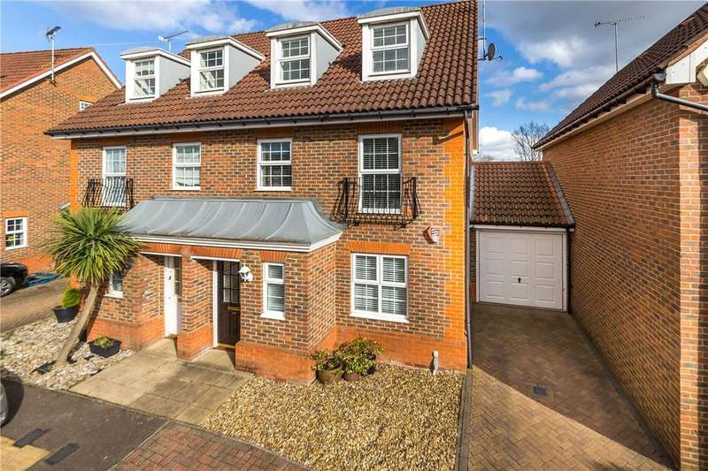 4 Bedrooms Semi Detached House for sale in Beauchamps, Welwyn Garden City, Hertfordshire