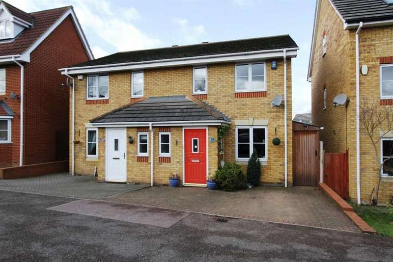 3 Bedrooms Semi Detached House for sale in Magnolia Lane, Laindon, Essex, SS15 4HL
