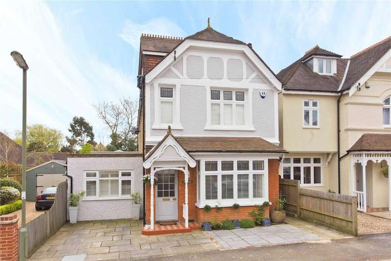 5 Bedrooms Detached House for sale in Hillbrow Road, Esher, Surrey, KT10