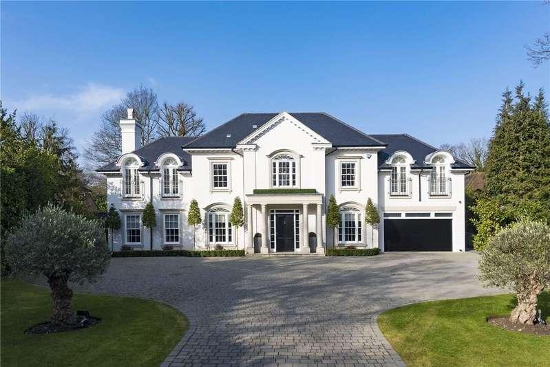 6 Bedrooms Detached House for sale in Cranley Road, Burwood Park, Walton-on-Thames, Surrey, KT12