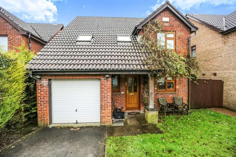 4 Bedrooms Detached House for sale in St Michaels Way, Brackla, BRIDGEND