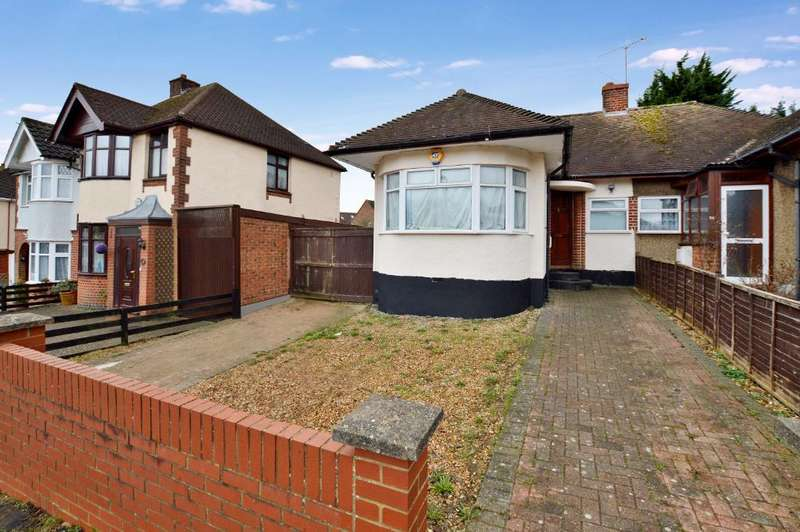 3 Bedrooms Bungalow for sale in Stanford Road, Round Green, Luton, LU2 0PY