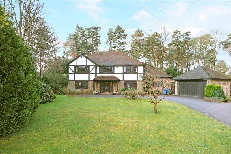 5 Bedrooms Detached House for sale in Sparrowhawk Close, Ewshot, Farnham, GU10