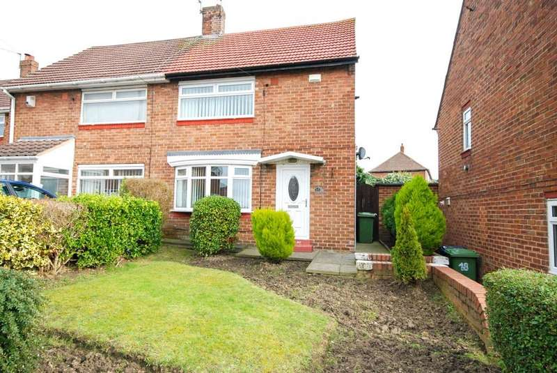2 Bedrooms Semi Detached House for sale in Cotswold Square, Hylton Castle