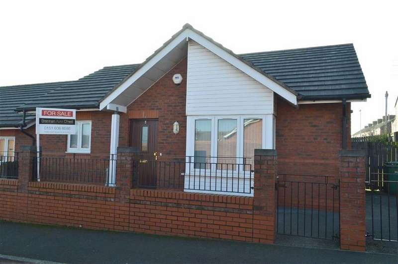 2 Bedrooms Semi Detached Bungalow for sale in Fairfax Road, Tranmere, CH41