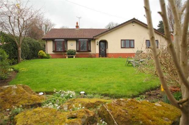 3 Bedrooms Detached Bungalow for sale in Coed Efa Lane Wrexham Road, New Broughton, Wrexham