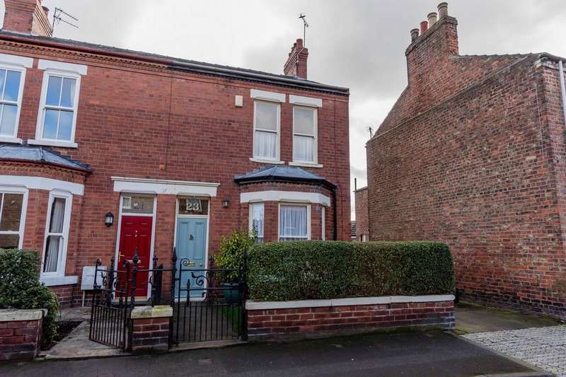 3 Bedrooms End Of Terrace House for sale in Milner Street, Acomb, York