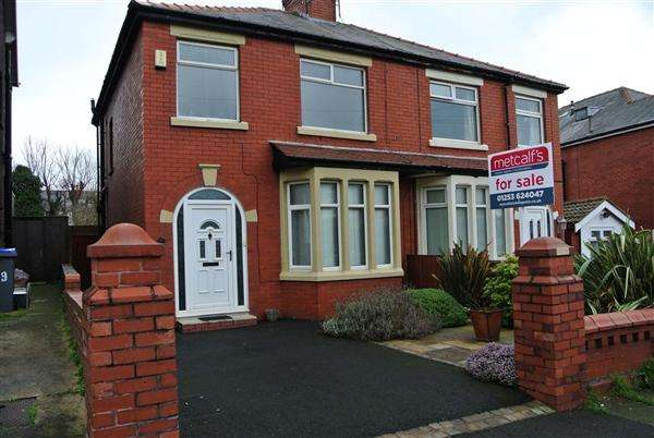 3 Bedrooms Semi Detached House for sale in Briercliffe Avenue, Blackpool