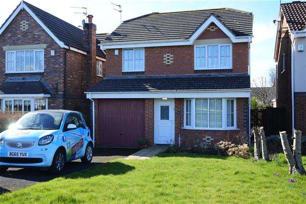 4 Bedrooms Detached House for sale in Barnes Drive, Thornton-Cleveleys