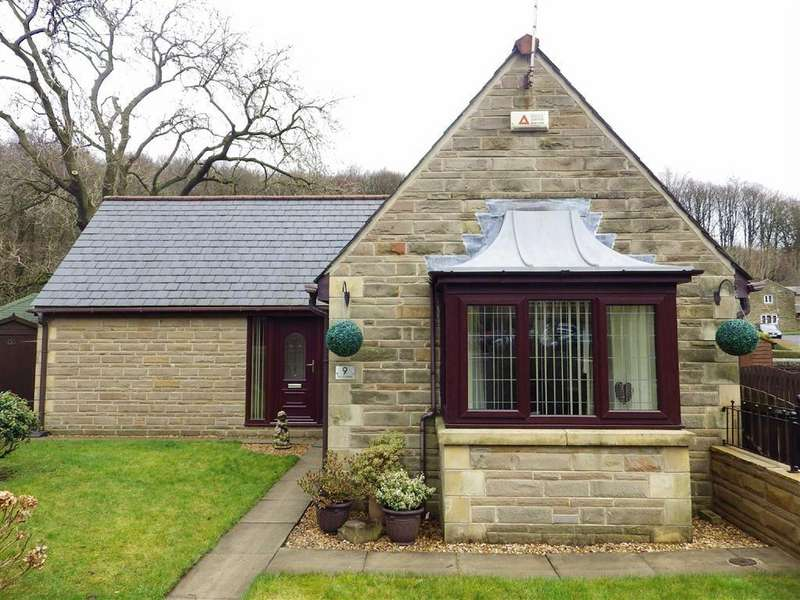 2 Bedrooms Detached Bungalow for sale in The Cloisters, Bacup Road, Rossendale, Lancashire, BB4